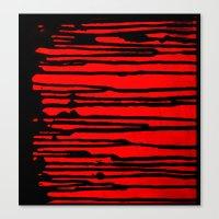 Partial Abstract V3 Canvas Print
