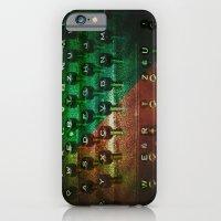 P's and Q's iPhone 6 Slim Case