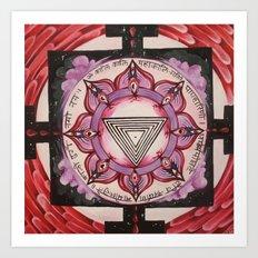 Kali Yantra Art Print