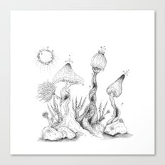 imaginaryWood Canvas Print