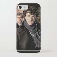 sherlock iPhone & iPod Cases featuring Sherlock  by SRB Productions