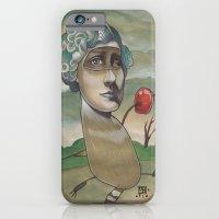 RED APPLE RACCOON iPhone 6 Slim Case