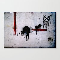 Dirtypple Canvas Print