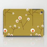 Retro Green Pattern Desi… iPad Case