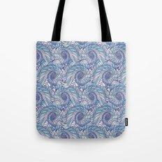 Peacock Swirl - original Tote Bag