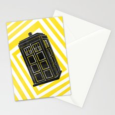 Time And Relative Dimension In Space Stationery Cards