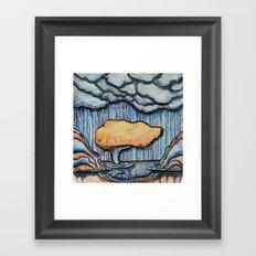blue canyon Framed Art Print
