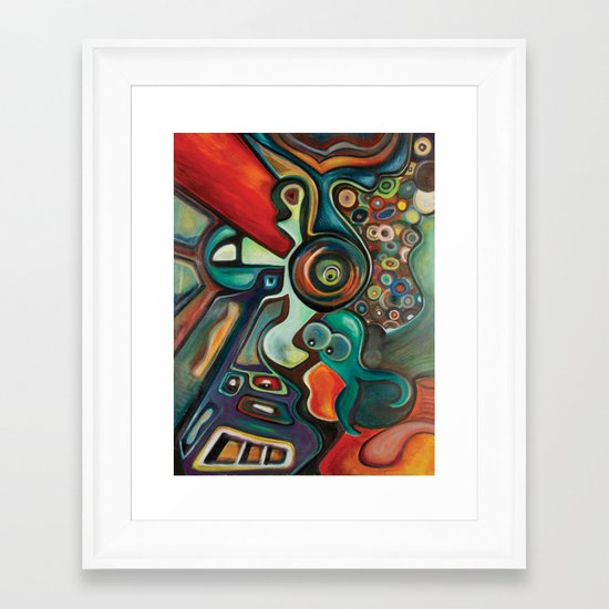 Phish Framed Art Print