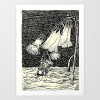 navigation improbable Art Print