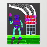 the arsonist Canvas Print