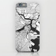 Boston Map Gray iPhone 6 Slim Case