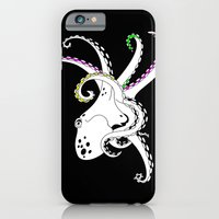 octopus iPhone & iPod Cases featuring Octopus by mailboxdisco