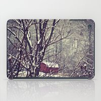 Out Behind The Barn  iPad Case