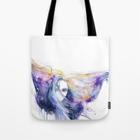 Big Bang In Watercolor Tote Bag