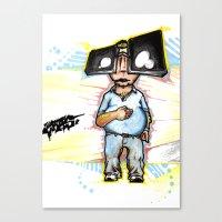 Subway Chubway Canvas Print