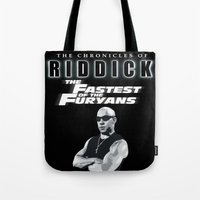 The Chronicles Of Riddic… Tote Bag