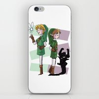 The Fairy and The Imp iPhone & iPod Skin