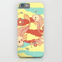 iPhone & iPod Case featuring go with the flow by freshinkstain