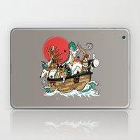 Miyazaki's Ark Laptop & iPad Skin