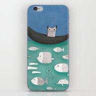 Overwhelmed Kitty iPhone & iPod Skin