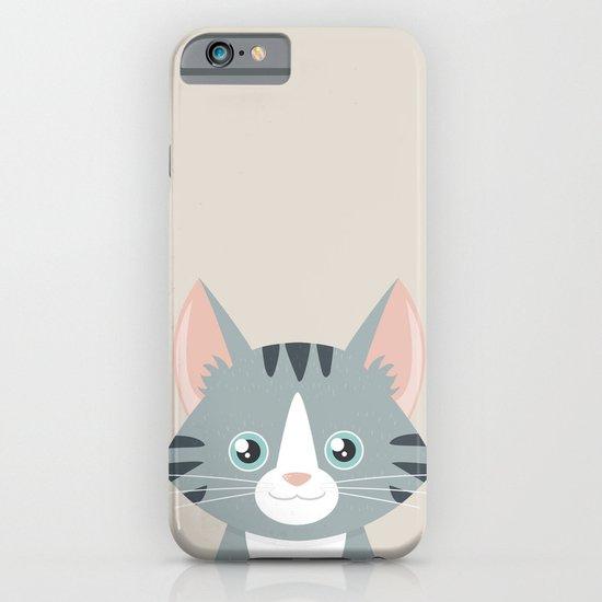 Grey Tabby Cat iPhone & iPod Case