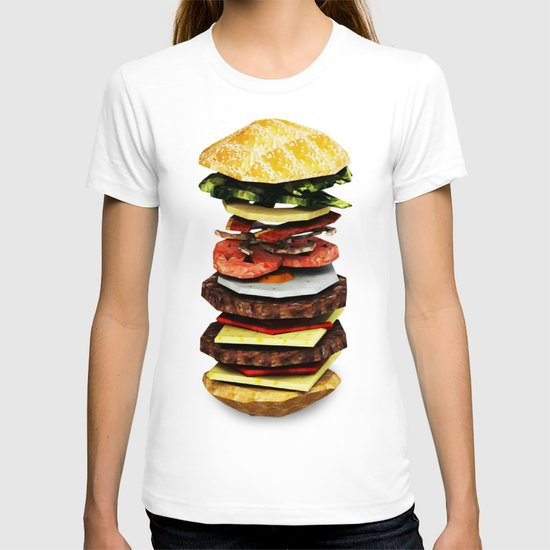 Graphic Burger T-shirt