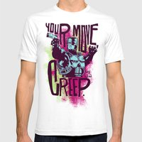 Your move, creep. // ROBOCOP Mens Fitted Tee White SMALL