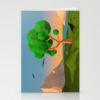 The apple tree Stationery Cards