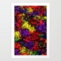Color Galore Art Print