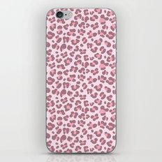 Baby pink Leopard iPhone & iPod Skin