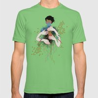 The Rush Mens Fitted Tee Grass SMALL