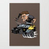 Mad Maxfink Canvas Print