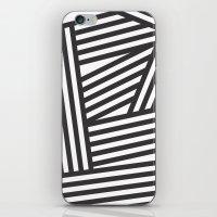 Black Stripes iPhone & iPod Skin