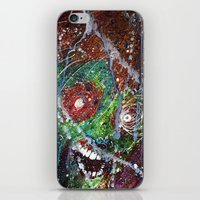 Fear Equals Rage iPhone & iPod Skin