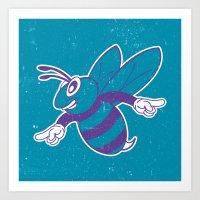 Buzz City Hornet By BEAS… Art Print