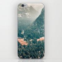 Yosemite Valley - Fall C… iPhone & iPod Skin