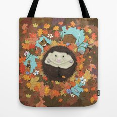Luv Song (Hedgehog) Tote Bag