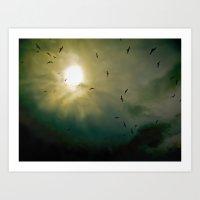 Wings Eternal Art Print