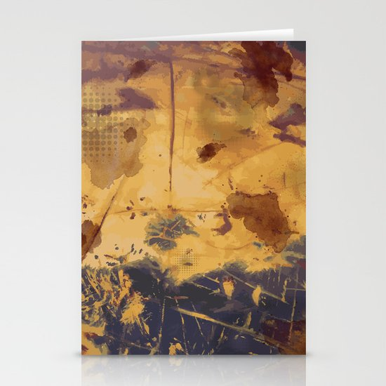 Rust Stationery Card