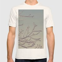 Winters Icy Chill Mens Fitted Tee Natural SMALL