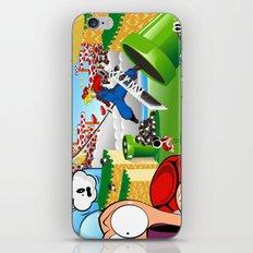 WHAT IF ..aka mushroom kingdom. iPhone & iPod Skin