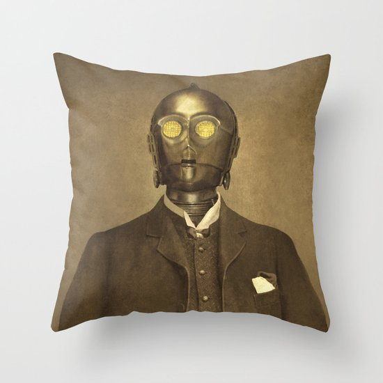 Baron Von Three PO  Throw Pillow
