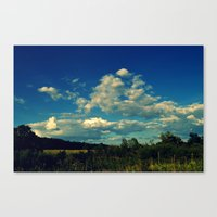 All Around Us Canvas Print