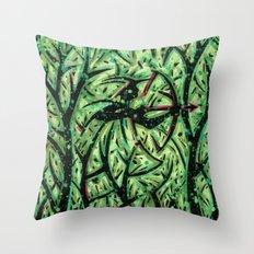 Orixás - Oxossi Throw Pillow