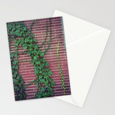 Brick Wall Ivy Stationery Cards