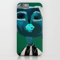 portrait of a girl iPhone 6 Slim Case