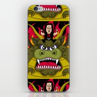 Danzig On A Dragon iPhone & iPod Skin