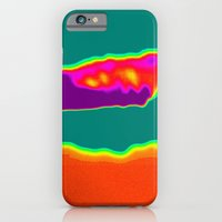 Psychedelic Hamburger iPhone 6 Slim Case