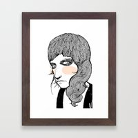 Plain Patti Framed Art Print