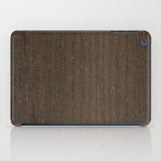 Wenge Wood iPad Case